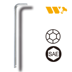 L-Type-Ball-Point-Hex-Key-Wrench(SAE)